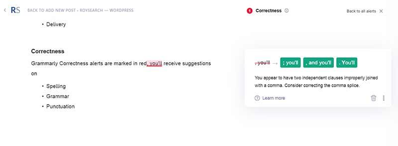 grammarly-correctness-alerts